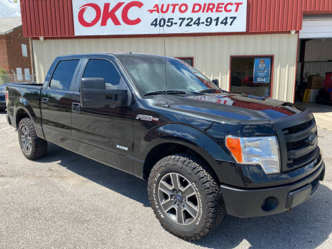 2014 Ford F-150 for sale at OKC Auto Direct in Oklahoma City OK