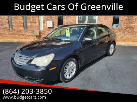 2007 Chrysler Sebring for sale at Budget Cars Of Greenville in Greenville SC