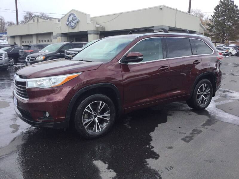2016 Toyota Highlander for sale at Beutler Auto Sales in Clearfield UT