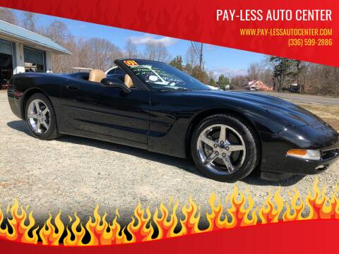 2001 Chevrolet Corvette for sale at Pay-Less Auto Center in Roxboro NC