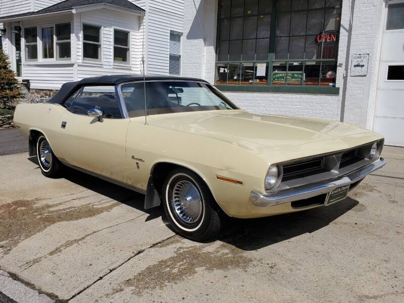 1970 Plymouth Barracuda for sale at Carroll Street Auto in Manchester NH