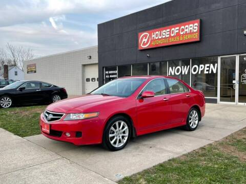 2008 Acura TSX for sale at HOUSE OF CARS CT in Meriden CT