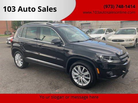 2013 Volkswagen Tiguan for sale at 103 Auto Sales in Bloomfield NJ