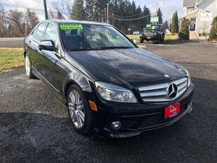 2009 Mercedes-Benz C-Class for sale at FUSION AUTO SALES in Spencerport NY