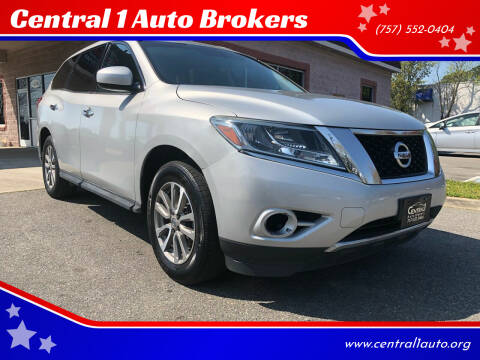 2014 Nissan Pathfinder for sale at Central 1 Auto Brokers in Virginia Beach VA