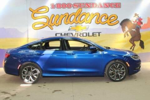 2017 Chrysler 200 for sale at Sundance Chevrolet in Grand Ledge MI