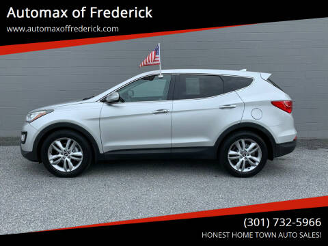 2013 Hyundai Santa Fe Sport for sale at Automax of Frederick in Frederick MD