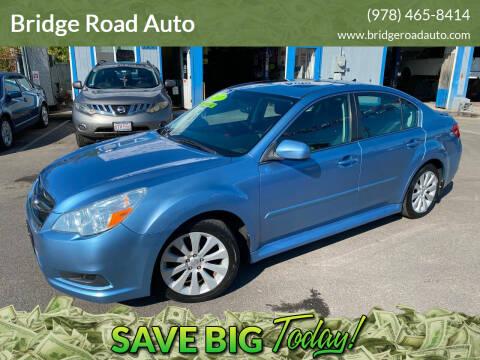 2011 Subaru Legacy for sale at Bridge Road Auto in Salisbury MA