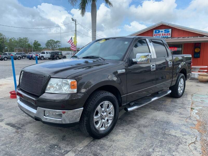 2005 Ford F-150 for sale at D&S Auto Sales, Inc in Melbourne FL