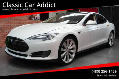 2012 Tesla Model S for sale at Classic Car Addict in Mesa AZ