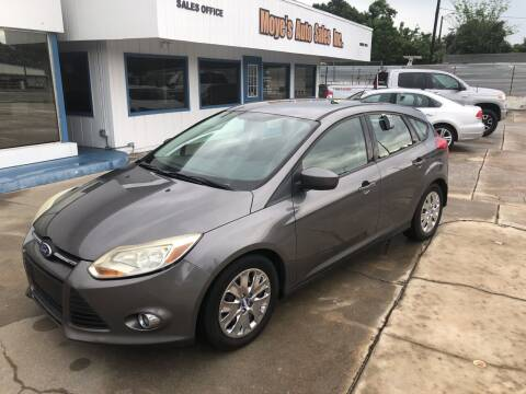 2012 Ford Focus for sale at Moye's Auto Sales Inc. in Leesburg FL