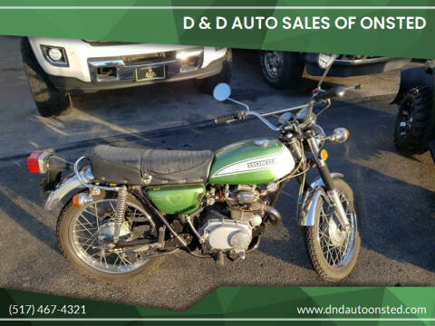 1973 Honda 175 for sale at D & D Auto Sales Of Onsted in Onsted   Brooklyn MI