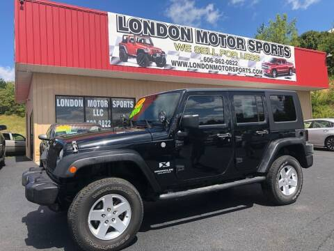 2007 Jeep Wrangler Unlimited for sale at London Motor Sports, LLC in London KY