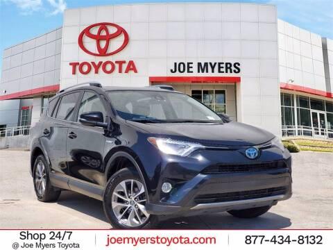 2017 Toyota RAV4 Hybrid for sale at Joe Myers Toyota PreOwned in Houston TX