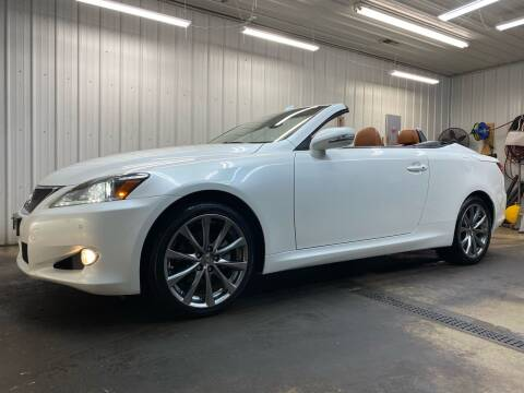 2015 Lexus IS 250C for sale at Ryans Auto Sales in Muncie IN