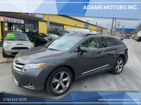 2015 Toyota Venza for sale at Adams Motors INC. in Inwood NY