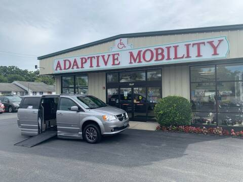 2017 Dodge Grand Caravan for sale at Adaptive Mobility Wheelchair Vans in Seekonk MA