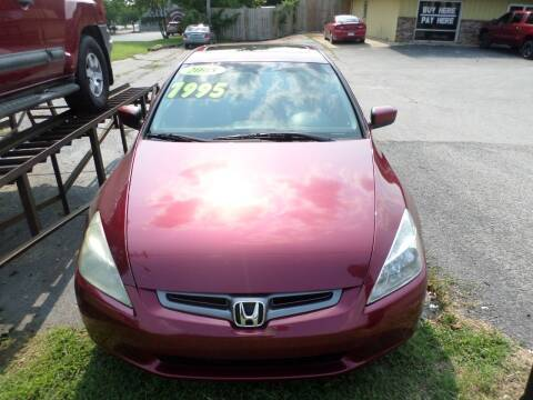 2005 Honda Accord for sale at Credit Cars of NWA in Bentonville AR