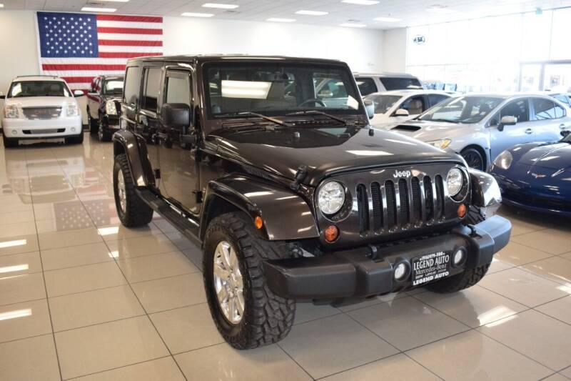 2013 Jeep Wrangler Unlimited for sale at Legend Auto in Sacramento CA