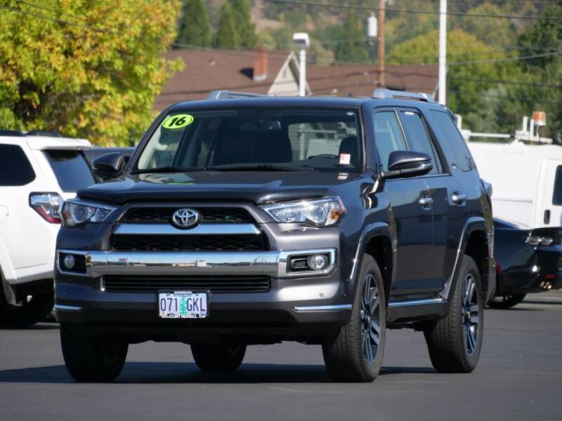 2016 Toyota 4Runner for sale at CLINT NEWELL USED CARS in Roseburg OR