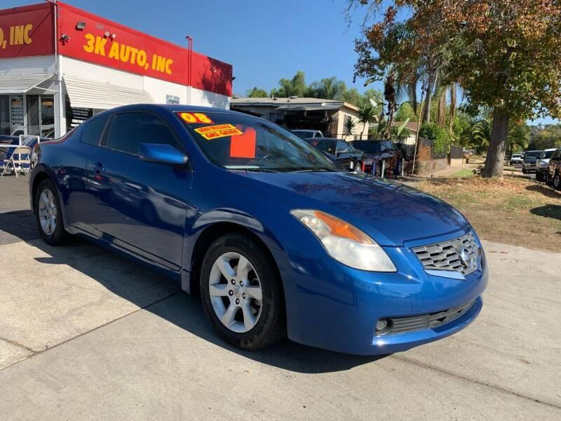 2008 Nissan Altima for sale at 3K Auto in Escondido CA