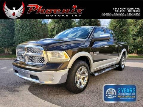 2013 RAM Ram Pickup 1500 for sale at Phoenix Motors Inc in Raleigh NC