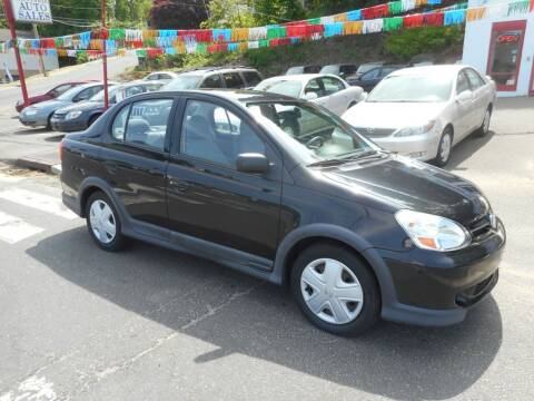 2003 Toyota ECHO for sale at Ricciardi Auto Sales in Waterbury CT