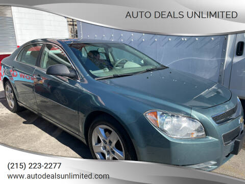 2009 Chevrolet Malibu for sale at AUTO DEALS UNLIMITED in Philadelphia PA