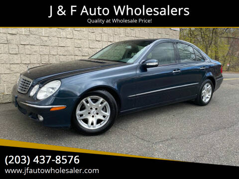 2003 Mercedes-Benz E-Class for sale at J & F Auto Wholesalers in Waterbury CT