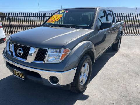 2008 Nissan Frontier for sale at Soledad Auto Sales in Soledad CA