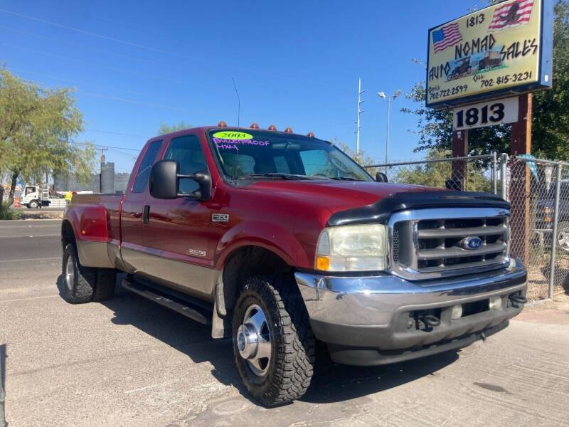 2003 Ford F-350 Super Duty for sale at Nomad Auto Sales in Henderson NV