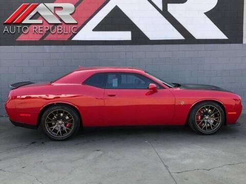2016 Dodge Challenger for sale at Auto Republic Fullerton in Fullerton CA
