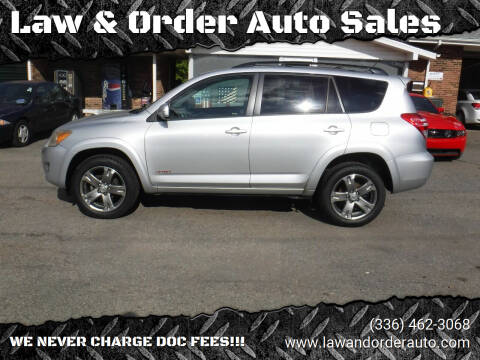 2011 Toyota RAV4 for sale at Law & Order Auto Sales in Pilot Mountain NC
