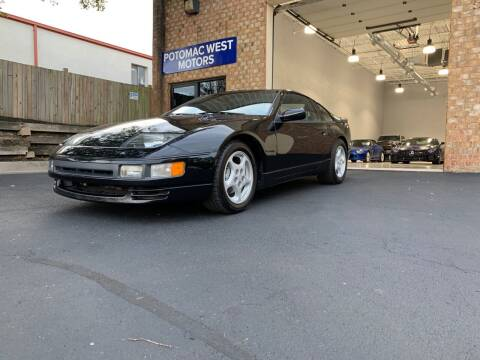 1991 Nissan 300ZX for sale at POTOMAC WEST MOTORS in Springfield VA