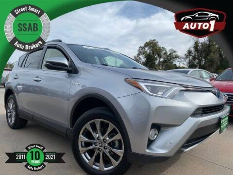 2018 Toyota RAV4 Hybrid for sale at Street Smart Auto Brokers in Colorado Springs CO