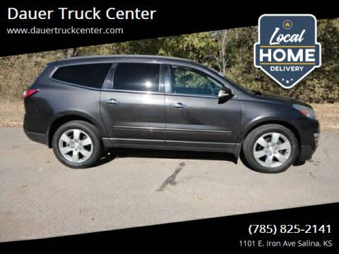 2015 Chevrolet Traverse for sale at Dauer Truck Center in Salina KS