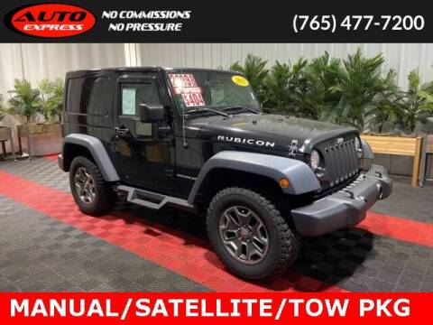 2013 Jeep Wrangler for sale at Auto Express in Lafayette IN