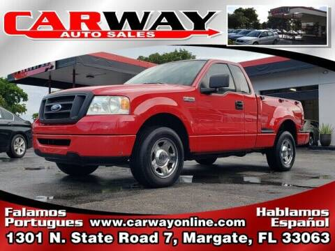 2006 Ford F-150 for sale at CARWAY Auto Sales in Margate FL