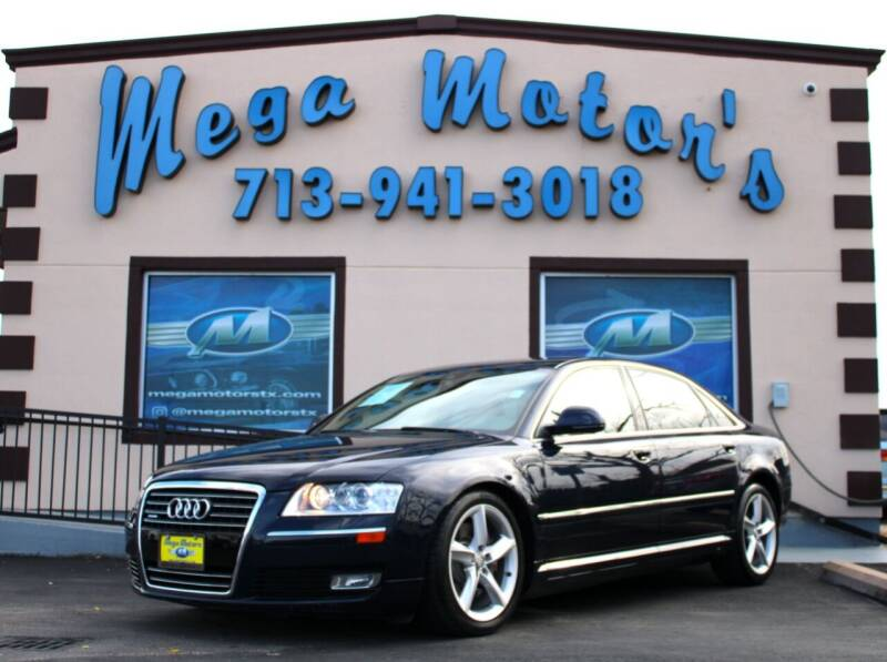 2008 Audi A8 for sale at MEGA MOTORS in South Houston TX