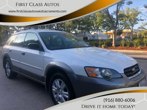 2005 Subaru Outback for sale at Car Source Center in West Sacramento CA