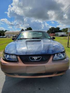 1999 Ford Mustang for sale at Auto Guarantee, LLC in Eunice LA