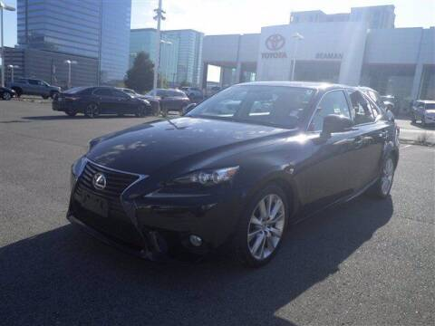 2014 Lexus IS 250 for sale at BEAMAN TOYOTA GMC BUICK in Nashville TN