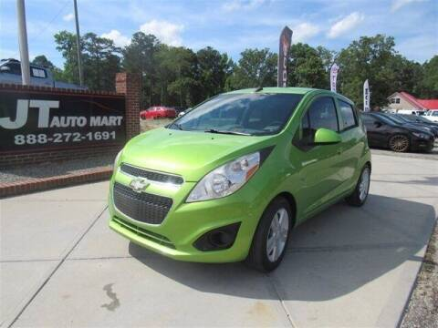 2014 Chevrolet Spark for sale at J T Auto Group in Sanford NC