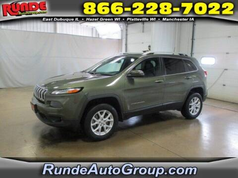 2018 Jeep Cherokee for sale at Runde PreDriven in Hazel Green WI