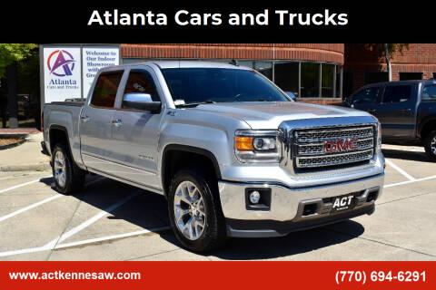 2015 GMC Sierra 1500 for sale at Atlanta Cars and Trucks in Kennesaw GA