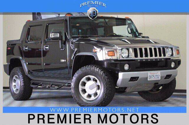 2008 HUMMER H2 SUT for sale at Premier Motors in Hayward CA