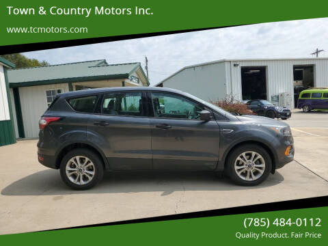 2018 Ford Escape for sale at Town & Country Motors Inc. in Meriden KS