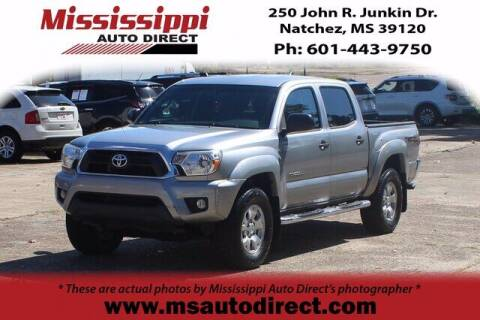 2015 Toyota Tacoma for sale at Auto Group South - Mississippi Auto Direct in Natchez MS