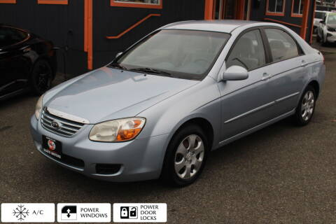 2007 Kia Spectra for sale at Sabeti Motors in Tacoma WA