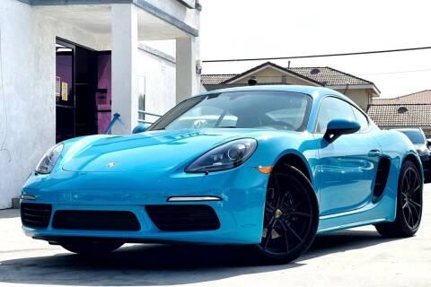 2018 Porsche 718 Cayman for sale at Fastrack Auto Inc in Rosemead CA